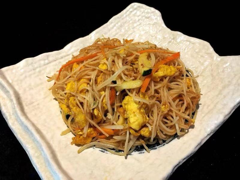 120. Spaghetti di Riso Verdure